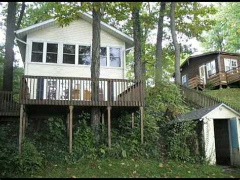 Lake Cottages For Sale In Indiana by Lakefront Home Cottage For Sale Deal Of The Century Northeast Indiana Only 98 900