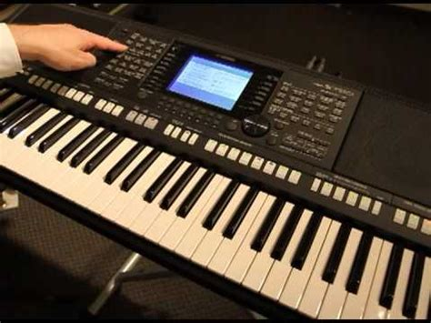 yamaha keyboard tutorial videos yamaha psrs 750 psrs 950 tyros tutorials style creator