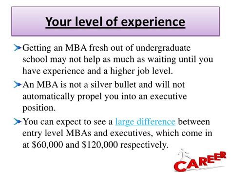 How Much Will An Mba Increase My Salary by Masters In Business Administration