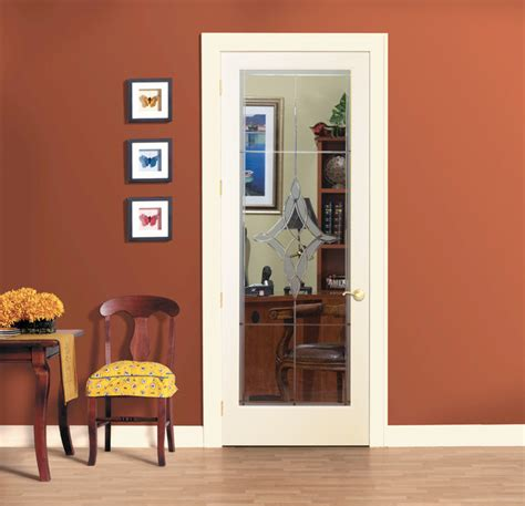 Home Office Doors With Glass | madison decorative glass interior door home office