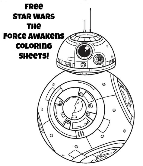 printable star wars star wars coloring pages the force awakens coloring pages