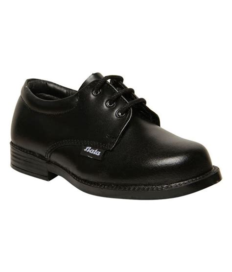 bata winner black school shoes for price in india