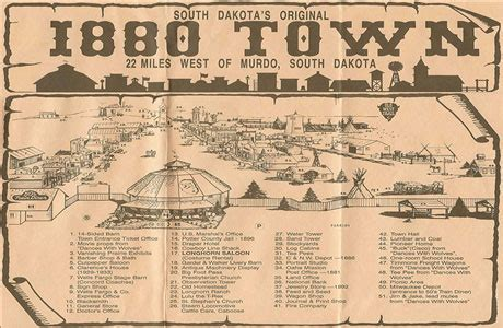 visit 1880 town | near murdo, south dakota 57559