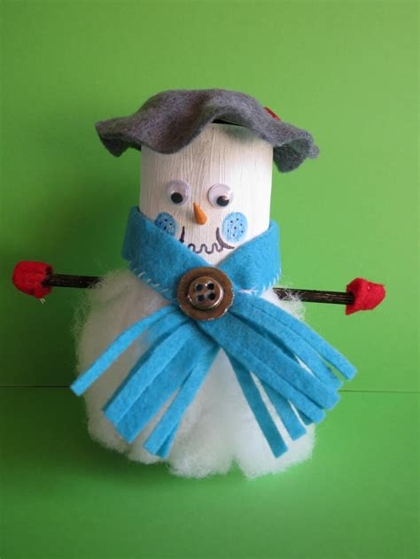 Snowman Toilet Paper Roll Craft - snowman toilet paper roll craft favecrafts