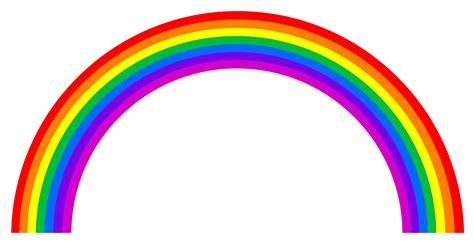 rainbow clipart black  white clipart  naming