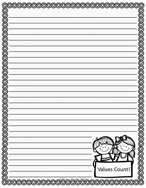 student writing paper template handwriting paper for 2nd grade handwriting