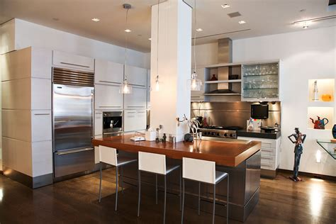 Recessed Cooktop Soho Loft Tagco Construction Inc