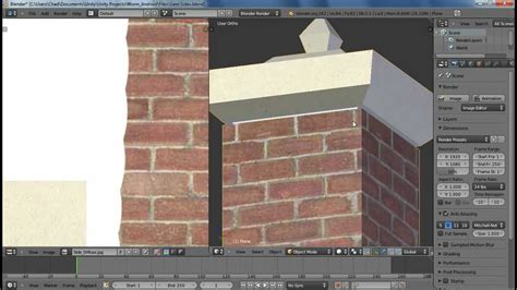 blender tutorial walls blender tutorial modeling an object making a brick wall