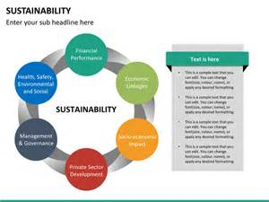 sustainability plan template sustainability powerpoint template sketchbubble