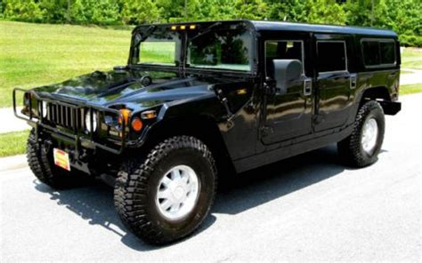original hummer h1 sell used great hummer h1 turbo diesel in andover new