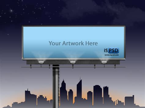 bill board psd