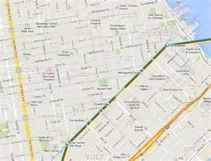 San Francisco Caltrain Map by Caltrain Vs Bart Vs Muni Hotels Near Bart