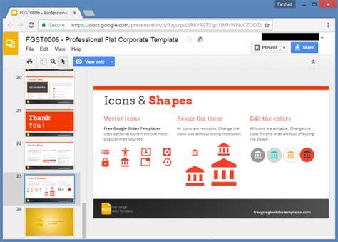 templates for powerpoint offline free corporate presentation google slides template