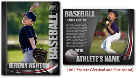 free sports card template photoshop baseball graphite arc4studio