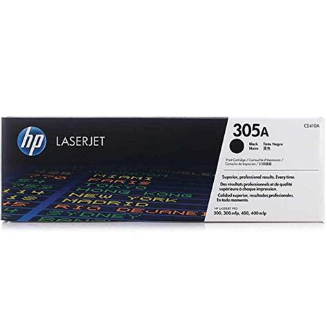 Sale Toner Hp Hp 305a Black Ce410a hp 305a ce410a black original laserjet toner cartridge