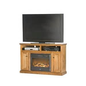 Electric Fireplace Tv Stand Fireplace 54 Quot Tv Stand With Electric Fireplace Finish Unfinished