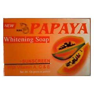 Sabun Pepaya Jinzu Whitening Soap rdl papaya whitening soap prices in india shopclues