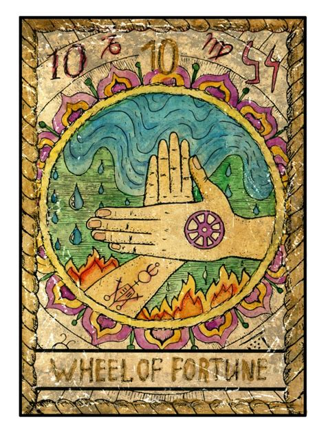 Tarot 10 Wheel Of Fortune simple tips on how to read tarot cards