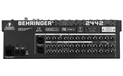 Mixer Behringer Xenyx 2442 Usb behringer xenyx 2442 fx mixer