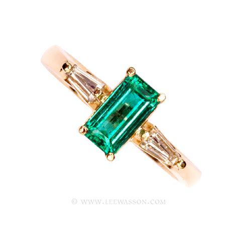 emerald ring emerald cut emerald engagement
