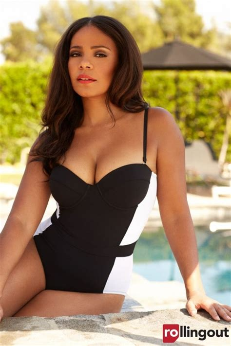 sanaa lathan hot sanaa lathan for rolling out magazine