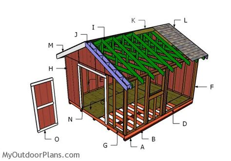 14x16 gable shed doors myoutdoorplans free woodworking plans and projects diy shed wooden
