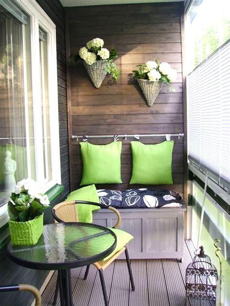 Balkon Dekorieren Ideen by Small Balcony Decorating Ideas For Modern Homes