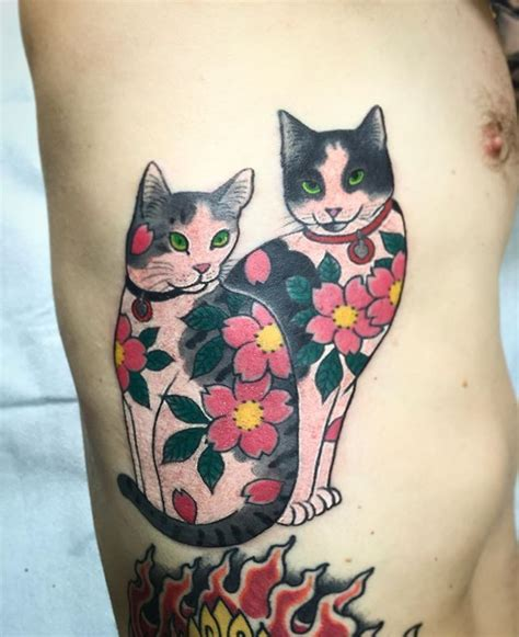 tattoo cat japanese 279 best images about painting on pinterest japanese