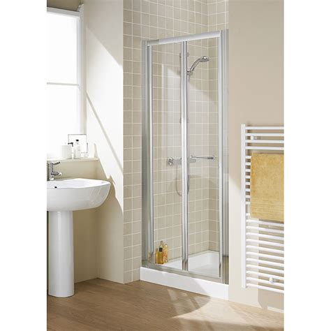 Reduced Height Shower Door with Reduced Height Lakes 700x1750 Semi Framed Bi Fold Shower Door Silver Buy At Bathroom City