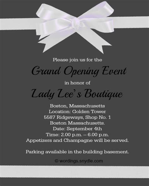open house invitation wording hospital opening invitation matter free custom invitation template design verrado