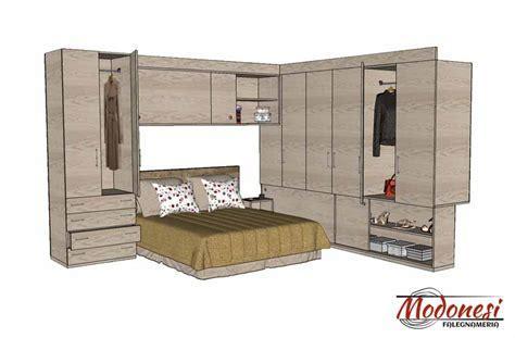 misure armadio da letto armadio a ponte su misura per da letto piccola