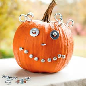 no carve pumpkin designs and decorating ideas