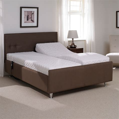 reclining double beds buy british made quality electric adjustable beds online today