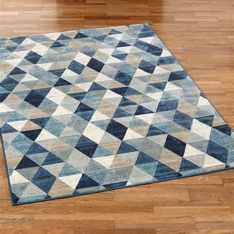 rug geometric nexus triangle geometric area rugs