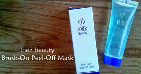Masker Wajah Inez topic review 21 inez brush on peel