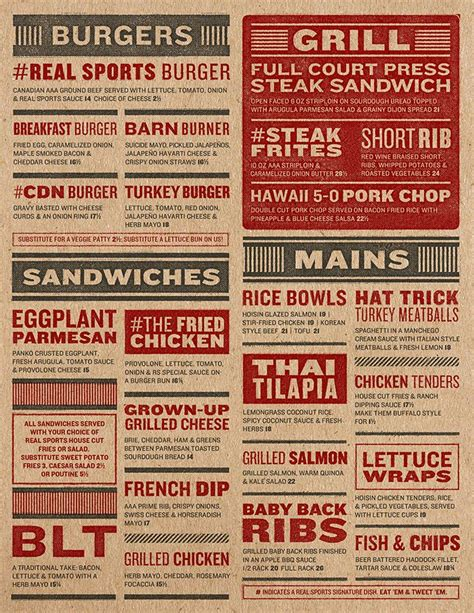 top bar menu 13 best images about bar menu on pinterest typography