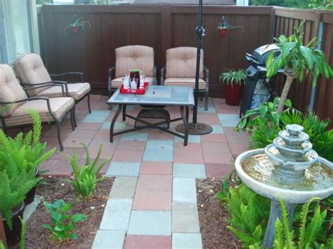 Small Condo Patio Decorating Ideas patio makeover home the great outdoors