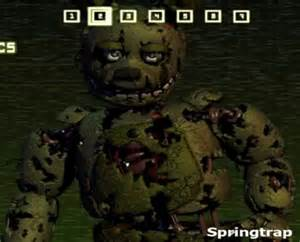 Who is springtrap from five nights at freddy s gamedev net