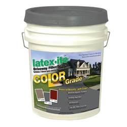 asphalt repair home depot ite 4 75 gal color grade blacktop driveway filler