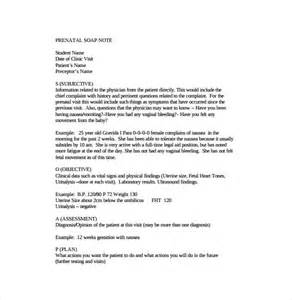 soap notes template soap note template 9 free word pdf format
