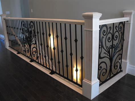 wrought iron banister railing banisters and railings home depot neaucomic com