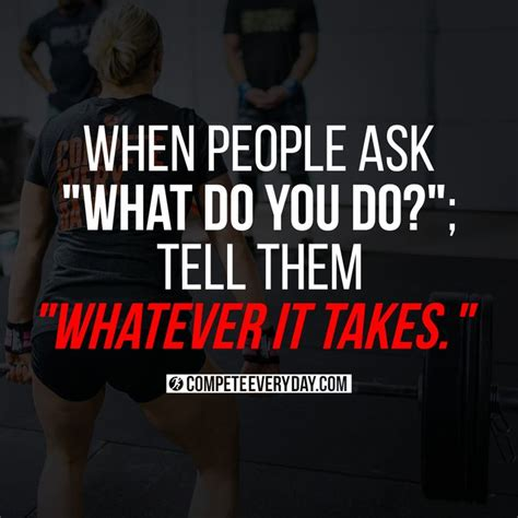 when ask quot what do you do quot tell them quot whatever it