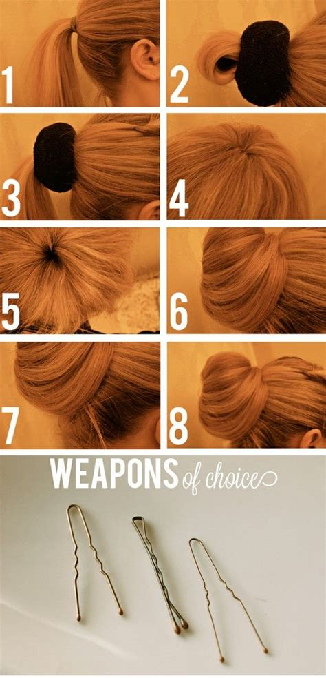 Hairstyles Accessories Bun With Socks by How To Updo Wedding Hairstyle Sock Bun How To Make The