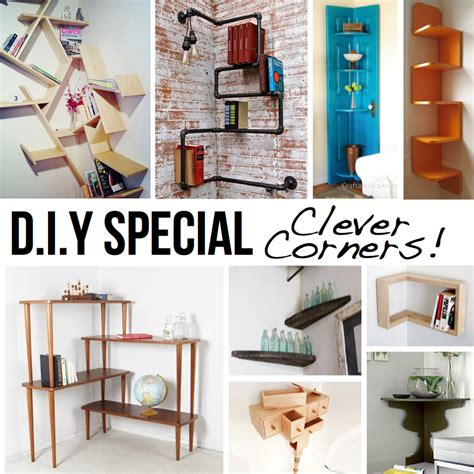 clever home decor ideas clever corner diy solutions
