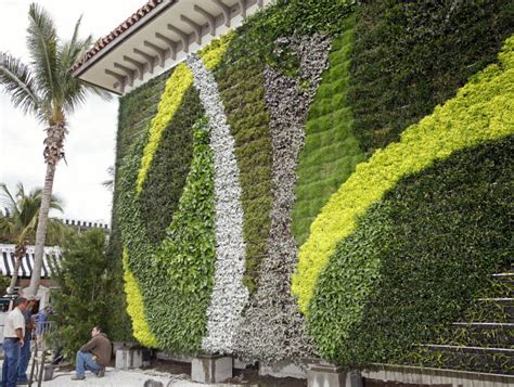 vertical gardens living walls