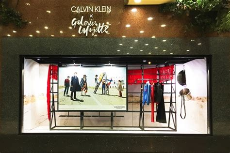 calvin klein windows  arte vetrina project