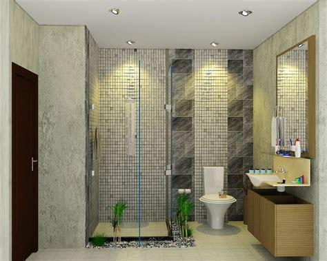 gambar desain kamar mandi minimalis trend terbaru