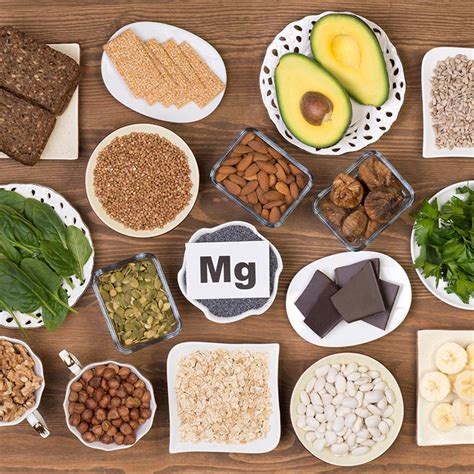 minerales  alimentos ricos en magnesio  combatir la fatiga foto