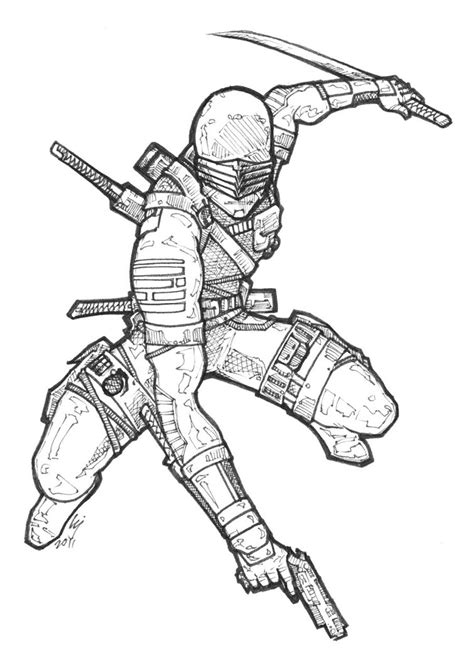 snake eyes coloring pages snake eyes lineart by jay ecnal on deviantart