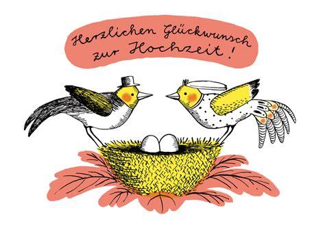 Postkarten Hochzeit by Herzlichen Gl 252 Ckwunsch Zur Hochzeit Postkarte Versenden